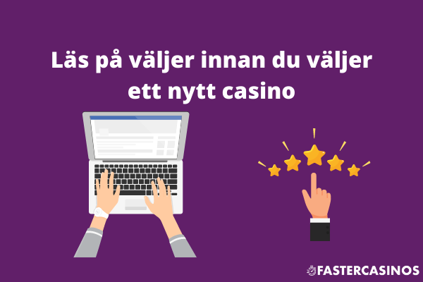 Nya casinon - tips