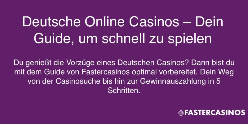 Deine Anleitung für Deutsche Online Casinos